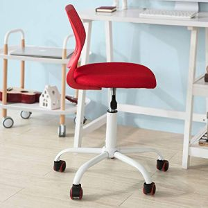 SoBuy 'FST64-R' Schreibtischstuhl rot
