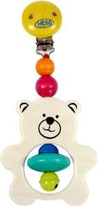 Wagenhänger Teddy 80 x 170 x 40 NEU Kinderwagen Kinderwagenzubehör Holz