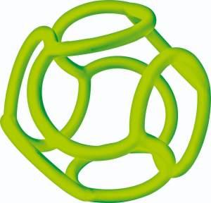 Ravensburger ministeps 4150 baliba, Baby Spielzeug ab 0 Monate,flexibler Ball, Greifling und Zahnhilfe für Babys, grün