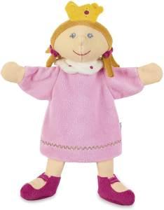 Sterntaler Handpuppe Prinzessin, Ideal für Puppentheater und Rollenspiele, 26 x 21 x 7 cm, Mehrfarbig