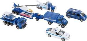 Legler small foot Modellautos Polizei, ab 3 Jahre, 8586