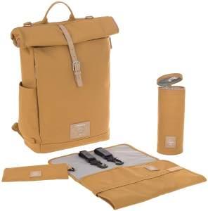 Lässig Green Label Rolltop Backpack (5 Farben) Curry