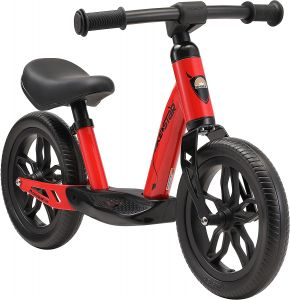 Bikestar Kinderlaufrad 10 Zoll Eco Classic Rot