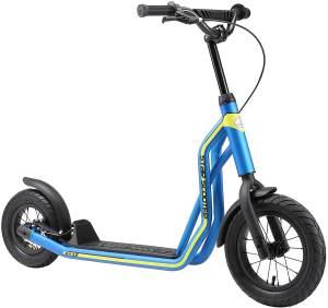 Star-Scooter Tretroller Kinderroller ab 6 -7 Jahre 12 Zoll Mixed Blau