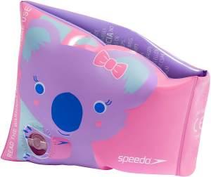 Speedo Schwimmflügel Koko Koala PVC rosa 2-teilig
