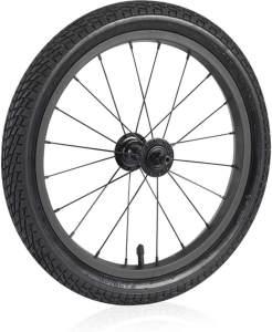 XLC Unisex– Erwachsene Jogger-Laufrad-3092009440 Jogger-Laufrad, schwarz, One Size