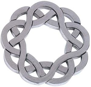 Bartl Huzzle Cast Coaster - Hochwertiges Metall-Puzzle