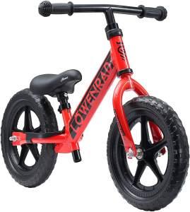 Bikestar Löwenrad Kinderlaufrad 12 Zoll Rot