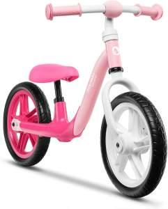 Lionelo 'Alex' Laufrad, 64 x 88 x 39 cm, ab 3 Jahren, bis 30 kg belastbar, höhenverstellbar, rosa-pink