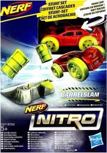 Hasbro E1271 - Nerf Nitro Soft Racer Barrelslam
