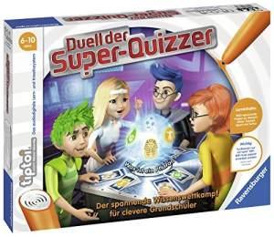 Ravensburger tiptoi 00833 - 'Duell der Super-Quizzer' / Spiel von Ravensburger ab 6 Jahren / Der spannende Wissenswettkampf für clevere Grundschüler
