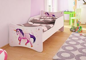 Best For Kids Kinderbett mit Schaummatratze 90x180 cm, pink
