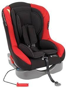 United Kids Space Traveller Autokindersitz verschiedene Designs Gruppe 0+/I 0-18 kg, Farbe:Rot-Schwarz