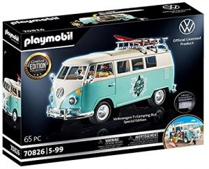 PLAYMOBIL Volkswagen 70826 'Volkswagen T1 Camping Bus - Special Edition', 64 Teile, ab 5 Jahren