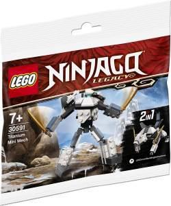 LEGO® NINJAGO®™ 30591 Titanium Mini Mech (Polybag)