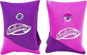 SwimWays 6046296 Schwimmflügel aus Stoff, Mehrfarbig