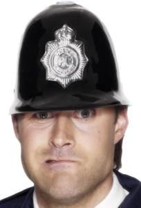 Smiffys Unisex Polizei Helm mit Emblem, One Size, 92080