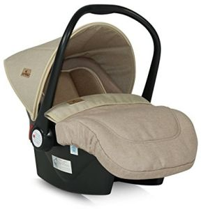 "Lorelli 10070301840Autositz Baby""Cosy Gruppe 0+ Lifesaver beige"