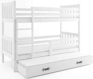 Interbeds 'CARINO 3' Etagenbett weiß 80x190cm
