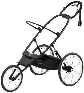 Cybex 'Avi' All Terrain Jogger-Buggy Rahmengestell 2021 Black with Black Details (ohne Sitz)