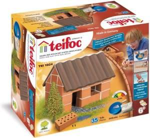 Eitech T1024 - Teifoc Steinbaukasten - Kleines Einfamilienhaus