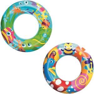 """Bestway Schwimmring """"Aquarium"""", 56 cm - 1x Schwimmring, zufällige Farbauswahl"""