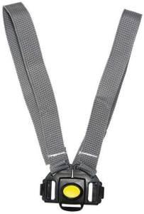 Burley Unisex– Erwachsene Sicherheitsgurt/Schultergurt grau, Schwarz, One Size