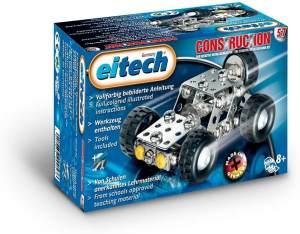 Eitech 00057 00057-Metallbaukasten Start Jeep, Multi Color