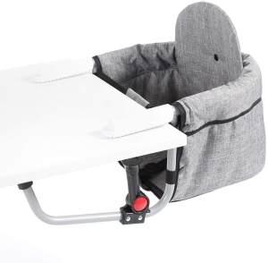 Chic 4 Baby Tischsitz Relax Hochstuhl Tisch-Sitz Jeans grau