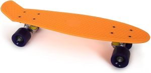 small Foot Skateboard Neonorange