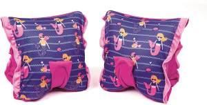 Bestway Swim Safe Kinder Schwimmflügel, Schwimmhilfe mit Textilbezug, für Mädchen 3-6 Jahre (M/L)