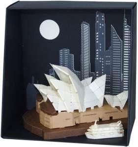 nanoblock 26055 -Opera House, Paper Nano, 3D-Bausysteme aus Papier, Schwierigkeitsstufe 3, schwer