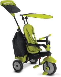 smarTrike 6950800 - Glow Touch Steering 4 in 1 Dreirad, grün