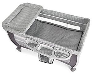 Icoo 607633–Reisebett, Farbe Diamond Grey