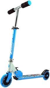 Best Sporting 'Scooter 125' Scooter, höhenverstellbar bis 80 cm, klappbar, max. belastbar bis 50 kg, blau/weiß