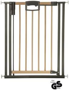 Geuther 2791 Easy Lock Wood Türschutzgitter Verstellbereich 68 - 76 cm
