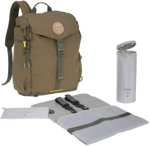 Lässig Wickelrucksack - Outdoor Backpack (4 Farben) Olive