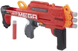 Hasbro Nerf E3057EU4 MEGA Bulldog, 2-in-1 Spielzeugblaster, Multicolor