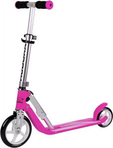 HUDORA 14201 'Little BigWheel' Scooter, ab 3 Jahren, höhenverstellbar bis 74 cm, klappbar, max. belastbar bis 100 kg, magenta