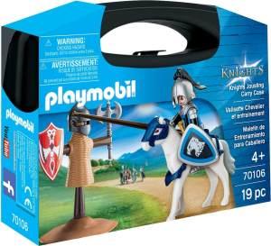 Playmobil 70106 Ritter- und Trainingskoffer
