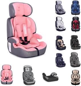 Lorelli Kindersitz Navigator Gruppe 1/2/3 (9 - 36 kg) 1 bis 12 Jahre umwandelbar rosa