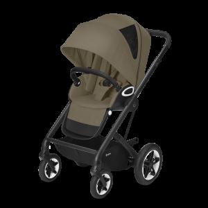 CYBEX Gold 'TALOS S LUX' Buggy 2021 Black/Classic Beige
