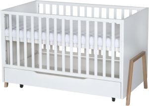 Schardt 'Holly Nature' Kombi-Kinderbett 70x140 cm inklusive Bettkasten