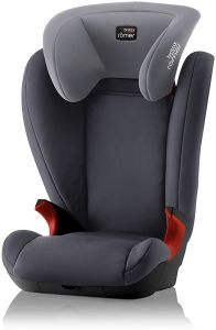 Britax Römer Kindersitz 3,5 - 12 Jahre I 15 - 36 kg I KID II Autositz Gruppe 2/3 I Storm Grey