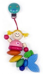 Hess-Spielzeug Wagenhänger Nixe