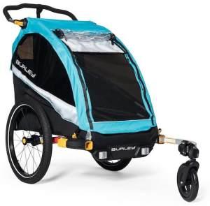 Burley 'D'Lite X' Fahrradanhänger Single 2021 Blau