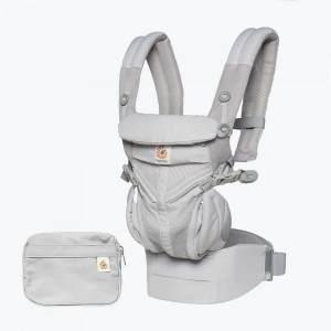 Ergobaby 'Omni 360 Cool Air Mesh' Babytrage 4-Positionen Pearl Grey