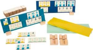 Legler Small Foot Rummy Zahlenlegespiel, Spielzeug, ab 7 Jahre, 11716