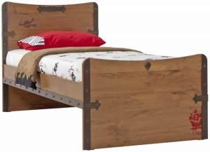 Cilek 'Black Pirate' Kinderbett 100x200