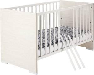 Schardt 'Capri White' Kombi-Kinderbett 70x140 cm